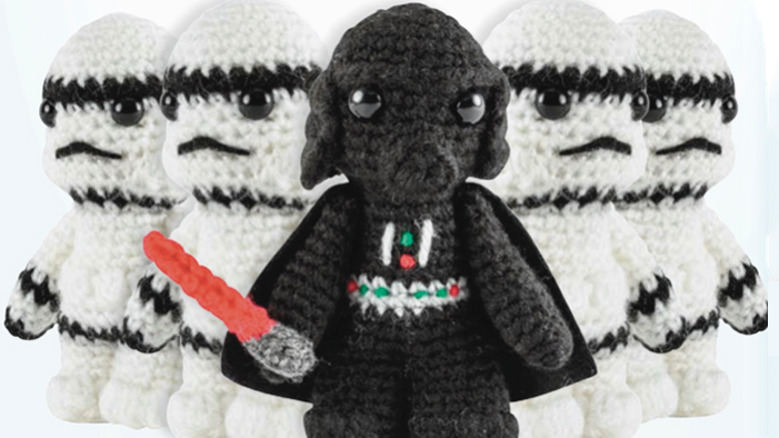 Join The Empire By Crocheting Your Own <i>Star Wars</i> Stormtrooper!
