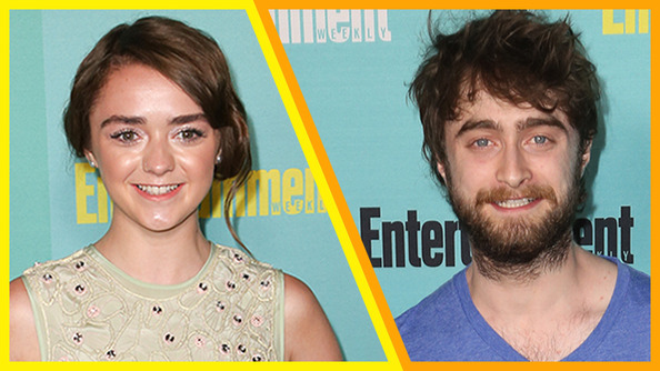 Arya Stark and Harry Potter Hung Out at Comic-Con and It Was MAGICAL