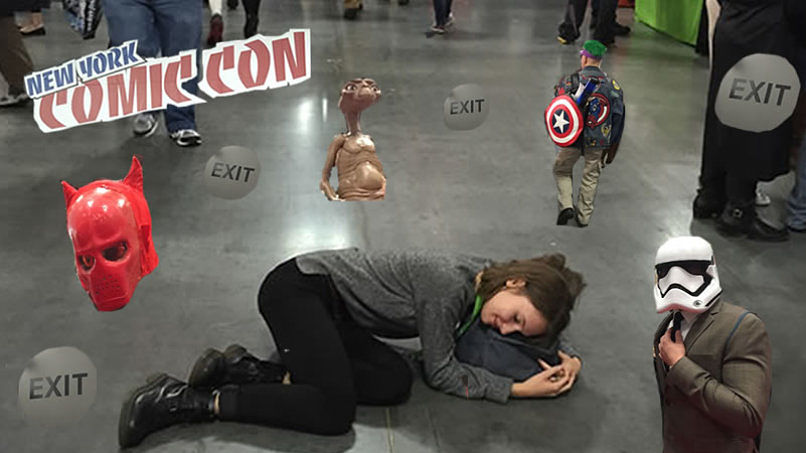 Stormtrooper Selfies, Red Carpets, and Floor Naps: A N00b Goes to Comic Con