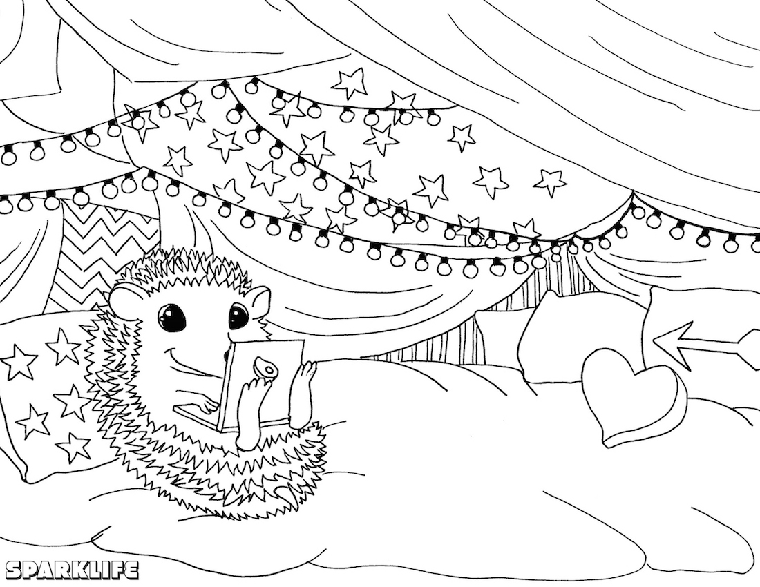 calm coloring pages - photo#37