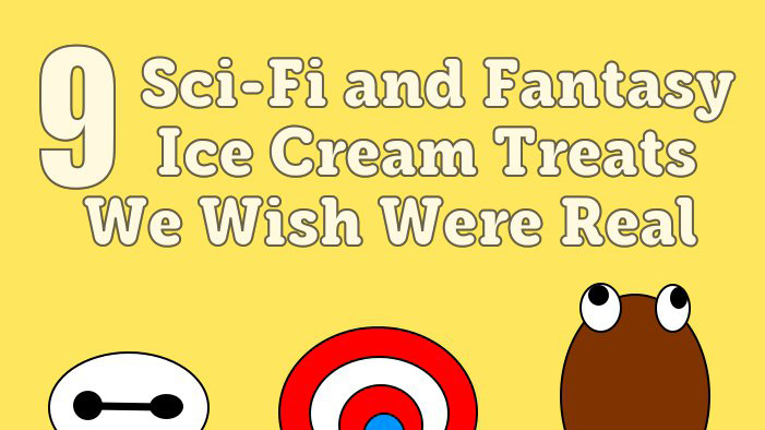 9 Sci-Fi and Fantasy Ice Cream Treats We Wish Were Real