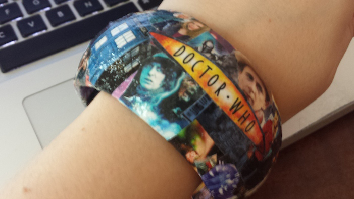 Decoupage Your Own Geeky Bracelet!