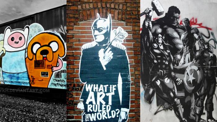 Totally Geeky Graffiti!