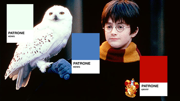 Can You Guess the Harry Potter Pantone?