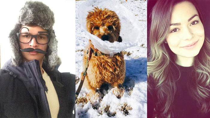 Snowy Selfies from the Cutest People on the Planet!