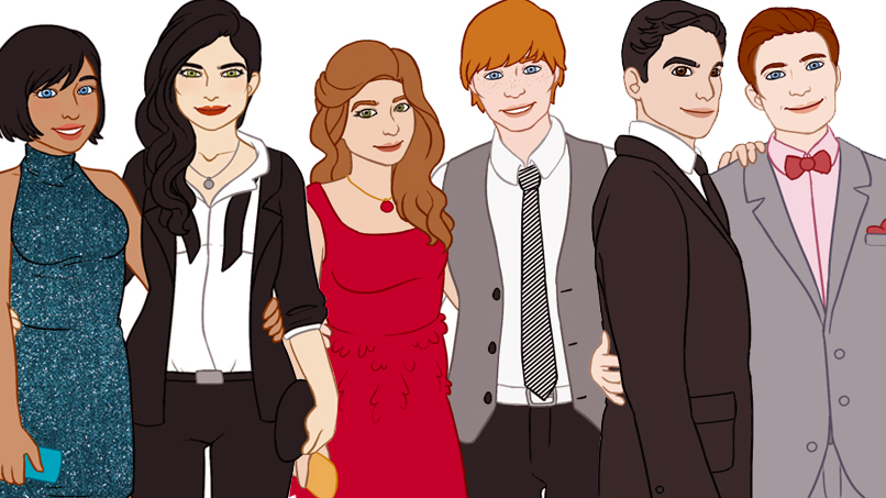 28 of Our Favorite Fictional Characters Go to Homecoming!