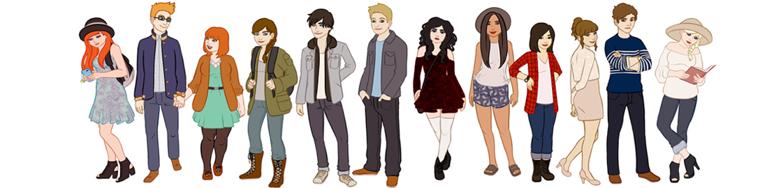 Your Fave Fictional Characters-in High School!!