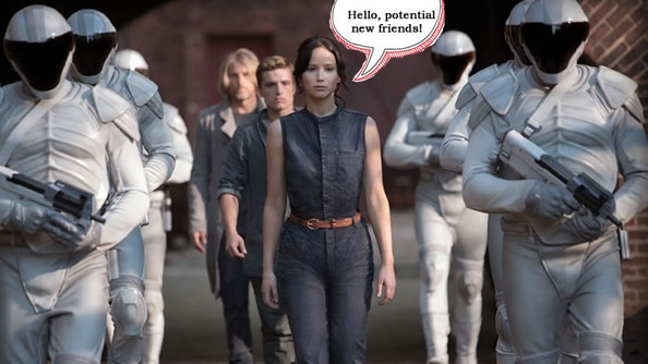 Katniss Everdeen's Guide To The First Day of School