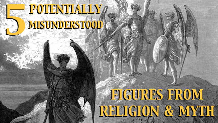 5 Potentially Misunderstood Figures from Religion and Myth
