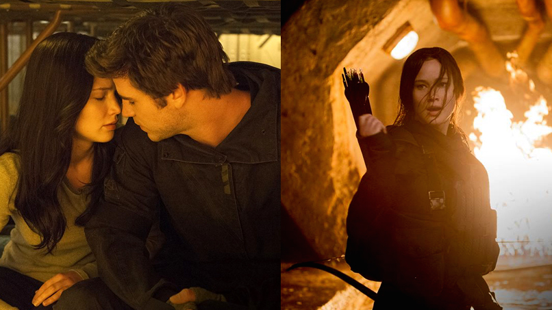 These New Pix from <em>Mockingjay 2</em> Are Sizzling with SCHMEXUAL CHEMISTRY