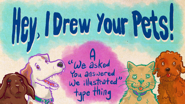 Reid Drew Your Pets-AND THEY ARE SPECTACULAR