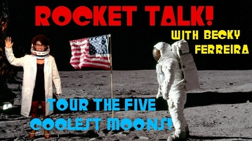 ROCKET TALK: The 5 Coolest Moons