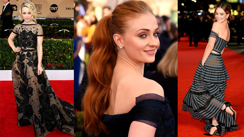 GLAM OVERDOSE: Our Favorite Looks from the 2016 SAG Awards & the <em>Pride, Prejudice, and Zombies</em> Premiere!
