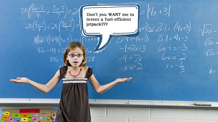 Hey, Unconscious Gender Bias! Quit Trying to Ruin Math for Girls