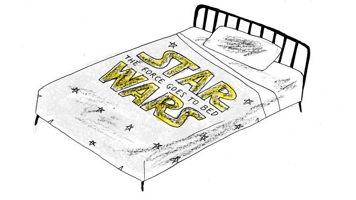 Star Wars: The Force Goes to Bed