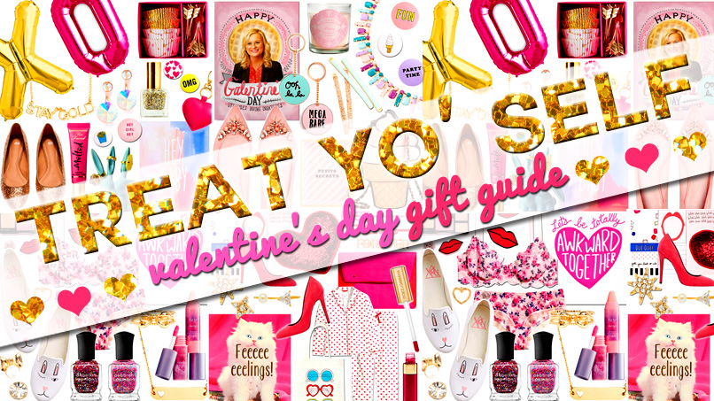This Valentine's Day, TREAT YO' SELF to Our Spectacular Gift Guide!