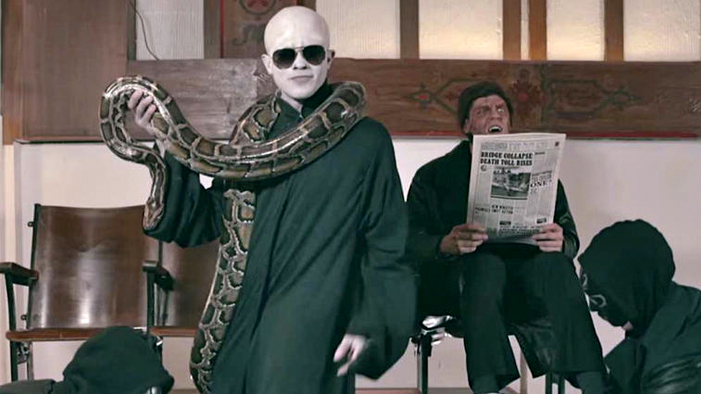 """This <em>Harry Potter</em> Parody of """"Uptown Funk"""" Is TOO HOT (It Makes a Hungarian Horntail Want to Retire, Man)"""
