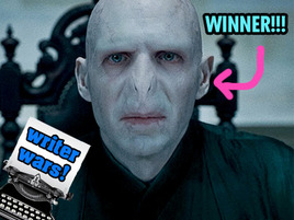 Somebody Call the President: Voldemort Just Won the Hunger Games