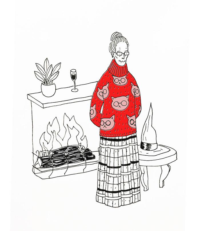 The christmas sweater summary