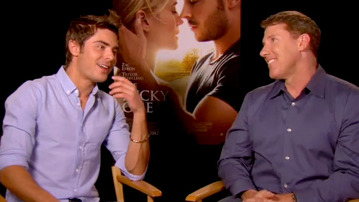 EXCLUSIVE Zac Efron Interview: The Heartthrob Spills on His Role in The Lucky One!