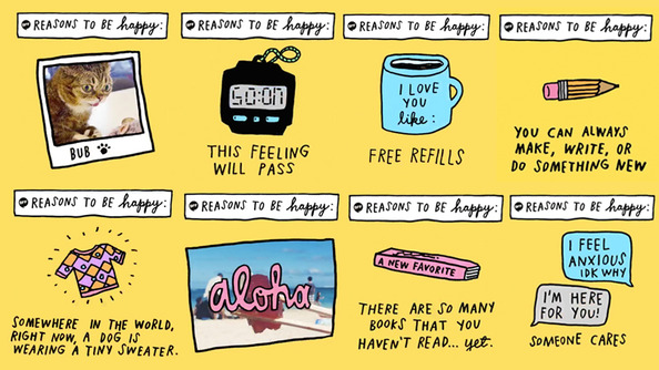 THERE ARE SO MANY REASONS TO BE HAPPY (& We're Going to Make a Slideshow About ALL OF THEM)