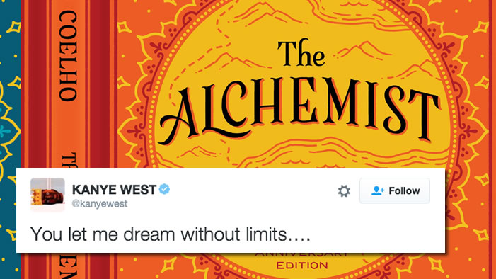 Can Kanye West's Tweets Be Explained by <i>The Alchemist</i>?