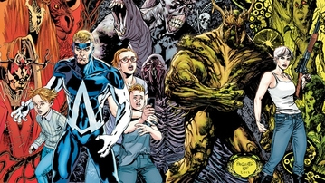 Animal Man and Swamp Thing Will Have a Crossover in 