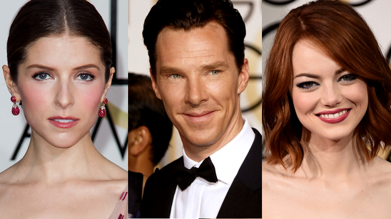 BEHOLD: the Most Glorious Dresses, Cheekbones, & CumberBombs of the 2015 Golden Globes!