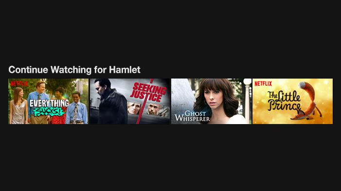 What Shakespeare Characters Would Be Watching on Netflix