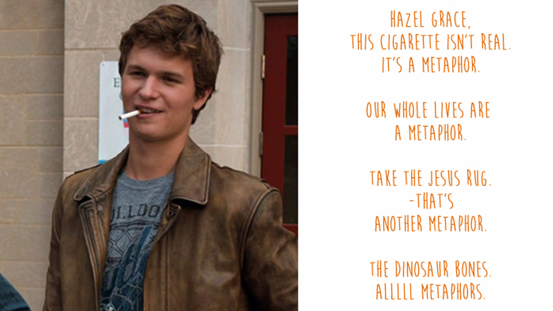 It's a Metaphor: Augustus Waters Explains All the Classics