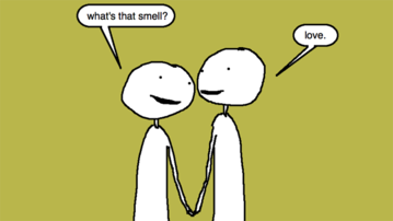 Auntie SparkNotes: Can You Mix Dating and Flatulating?