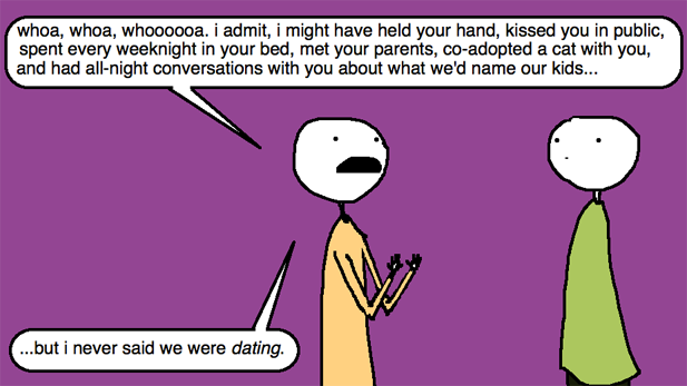 Auntie SparkNotes: He Thinks We're Dating; I Just Want To Hook Up