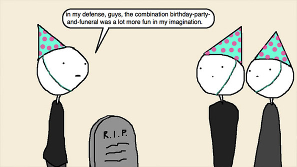 Auntie SparkNotes: My Birthday Was Cancelled 'Cause My Grandmother Died