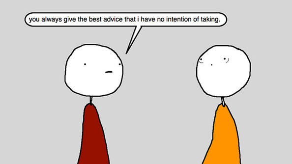 Auntie SparkNotes: My Needy Friend Keeps Asking for Advice