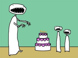 Auntie SparkNotes: Birthdayzilla