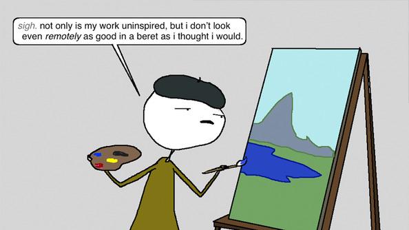 Auntie SparkNotes: My AP Art Class Sucks