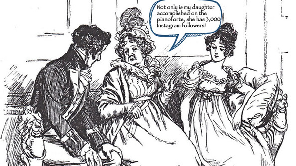 If Your Parents Spoke Like a Jane Austen Character