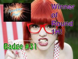 Choose Your Sparkler Post Badge: Round 1I