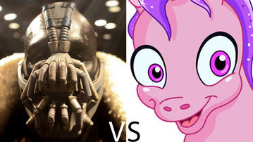 The MindHut SCIFI SMACKDOWN: Bane VS Pinkie Pie!