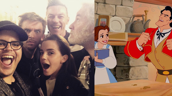 With Deepest Pride and Greatest Pleasure, We Present to You the First <i>Beauty and the Beast</i> Selfie