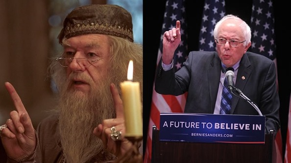 Who Said It: Bernie Sanders or Albus Dumbledore?
