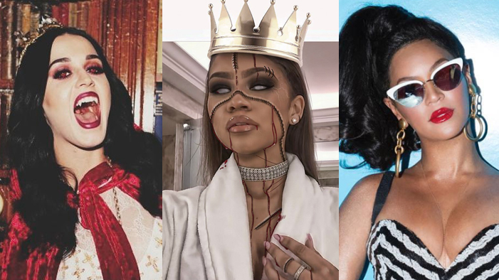 The Hottest Halloween Costumes of Beyoncé, Taylor Swift, & 35 More Celebs