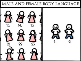 Body language woman likes you