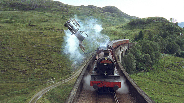 The Book Report: A Stranded Family Was Rescued by the Hogwarts Express