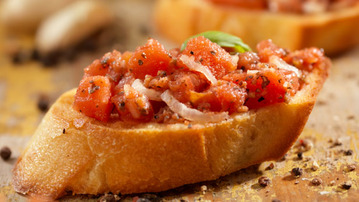 How to Make Basic Bruschetta