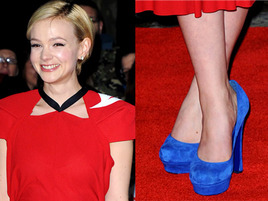 In or Out: Carey Mulligan's Blue Shoes