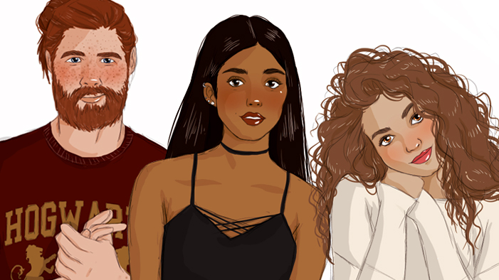 Gorgeous Illos of Charlie Weasley, Angelina Johnson, & 8 More of Our Fave Underrated <em>Harry Potter</em> Characters