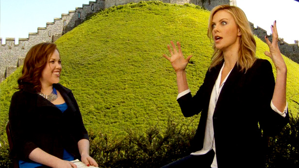 EXCLUSIVE Video: Chelsea Dagger Interviews Charlize Theron About Snow White and the Huntsman!
