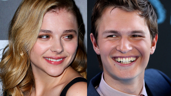 Ansel Elgort & Chloë Grace Moretz Are Dream-Teaming Up for the New Movie <em>November Criminals</em>