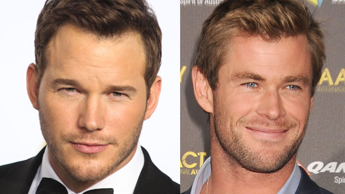 One Chris To Rule Them All: It's the CHRISES OF HOLLYWOOD COUNTDOWN!!!!